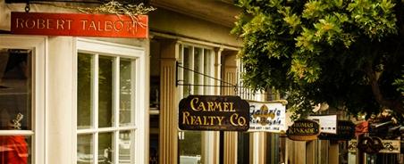 Carmel Shop Signs