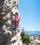 climb rocks