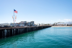 drive out on the pier